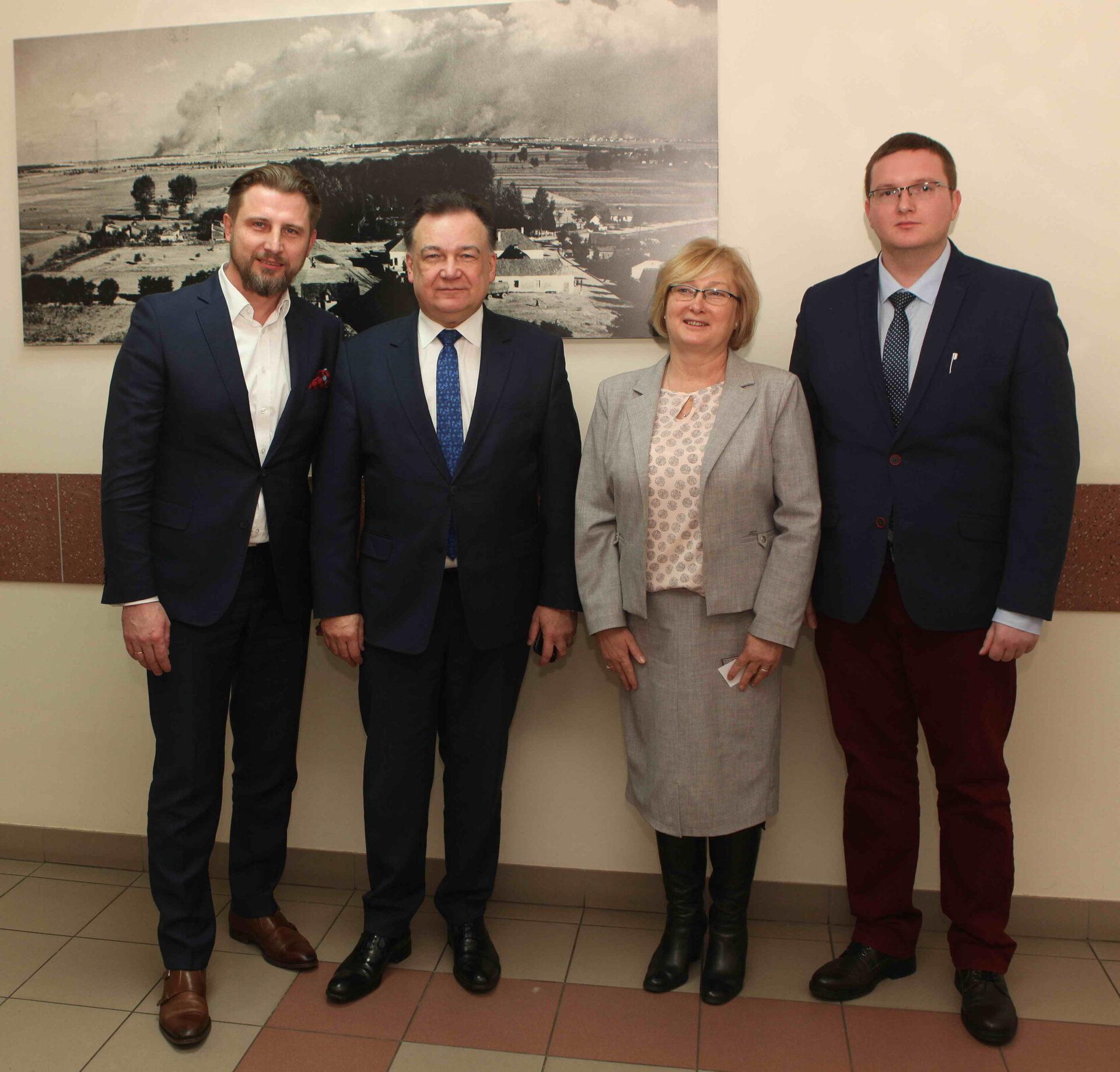 Spotkanie zMarszałkiem Województwa Mazowieckiego Adamem Struzikiem